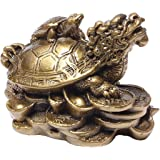 Feng Shui Turtles On Top Of A Dragon