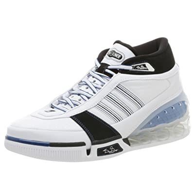 half off f5ccc 25c01 adidas Mens KG Bounce Basketball Shoe,RunwhtBlkLoneblue,8.5 M