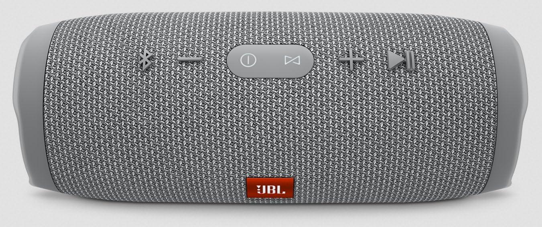 Black JBL Charge 3 Waterproof Portable Bluetooth Speaker 1