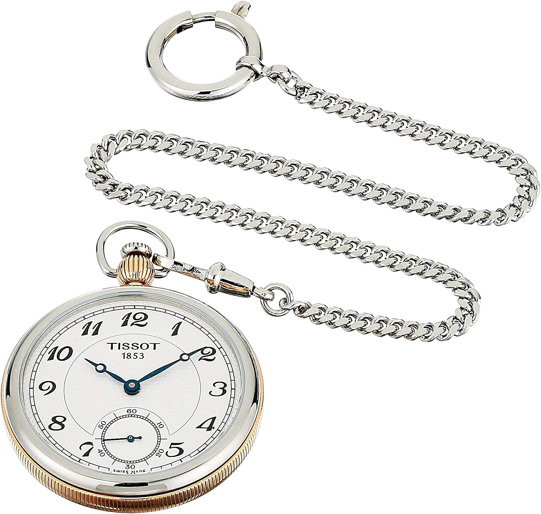 Tissot TASCHENUHR BRIDGEPORTPINE T860.405.29.032.01 Reloj de bolsillo
