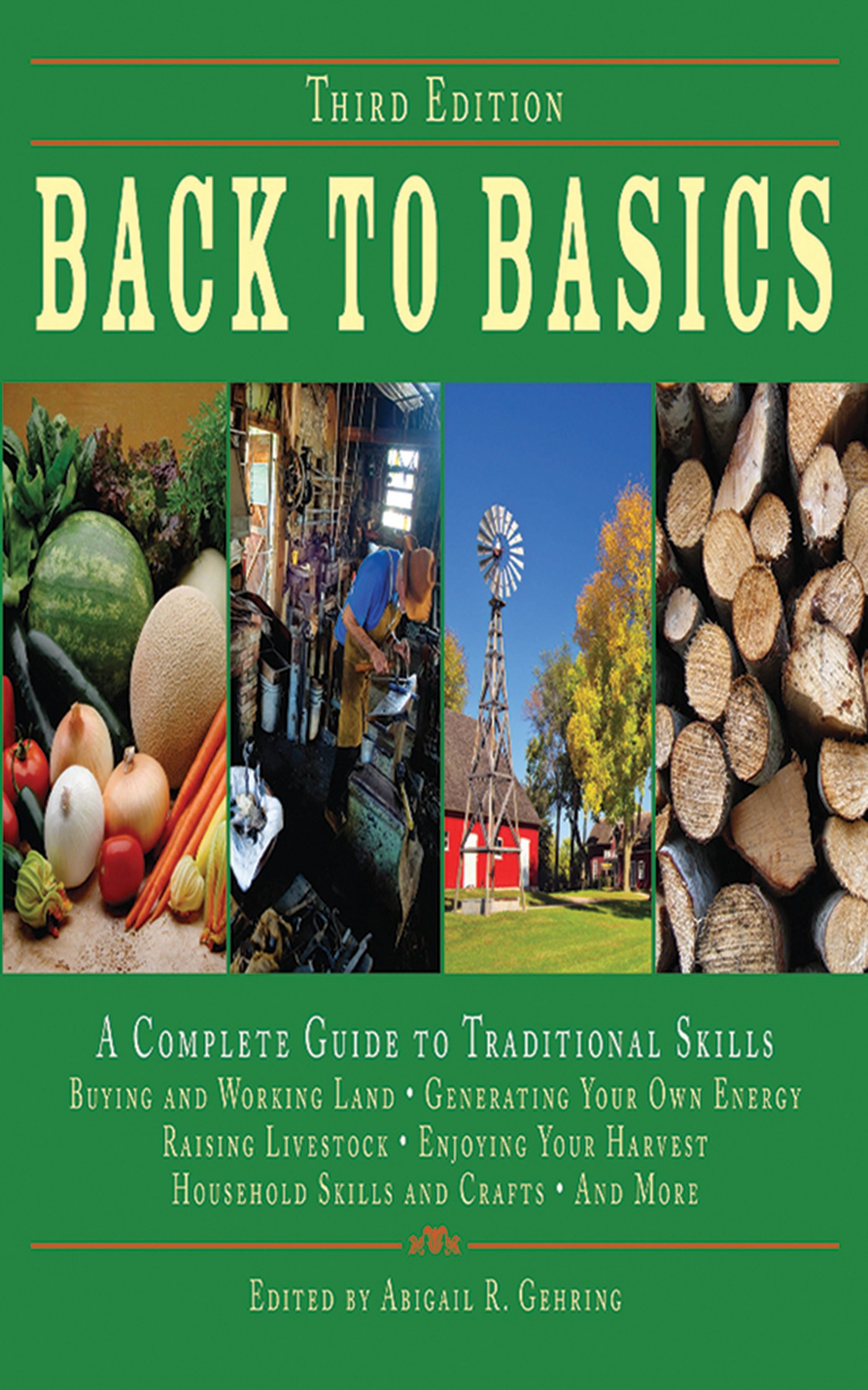 Back To Basics: Aplete Guide To Traditional Skills, Third Edition:  Abigail R Gehring: 9781602392335: Amazon: Books