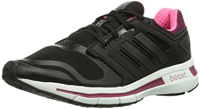 low priced 43cf0 c10bc adidas Revenergy Techfit, Damen Laufschuhe, Schwarz (Black 1  Black 1   Tribe