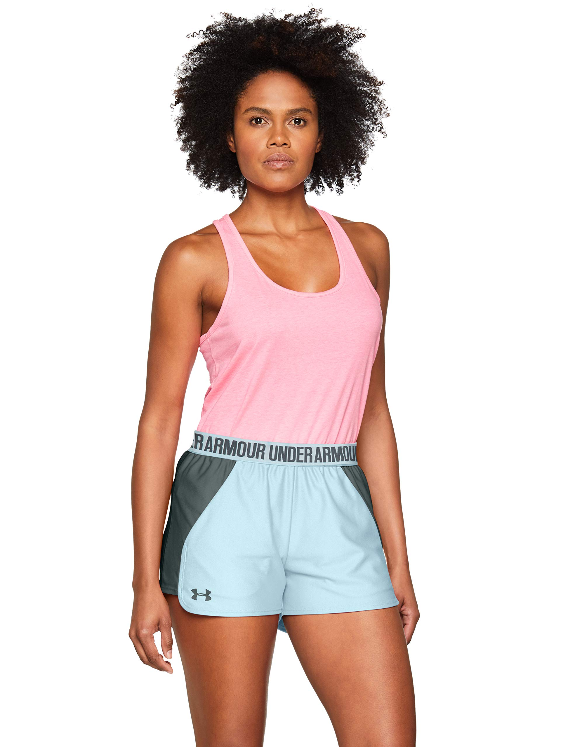 Under Armour Play Up Short 2.0 Pantalón Corto, Mujer, Azul (Coded Blue/Pitch Grey 451), XS product image