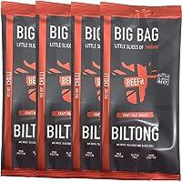 BEEFit Snacks (1kg en 500g) - Eiwitrijke - Gezondheid, Weinig Suiker, Niet Beef Jerky - 6 vershillende smaken - Traditioneel, Chilli, BBQ, Teriyaki, Peri Peri, Knoflook