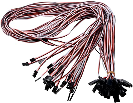 10pcs RC Servo Extension Cord Cable Wire Lead 3 Pin Male to Female Connector