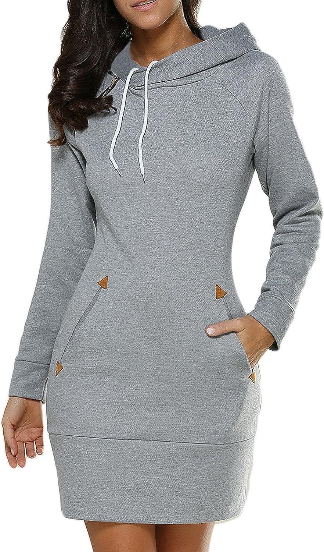 Abeaicoc Men Casual Sport Pockets Long Sleeve Pullover Hooded Sweatshirt