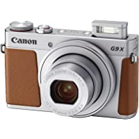Canon PowerShot G9 X Mark II Digital Camera with Built-in Wi-Fi & Bluetooth (Silver)