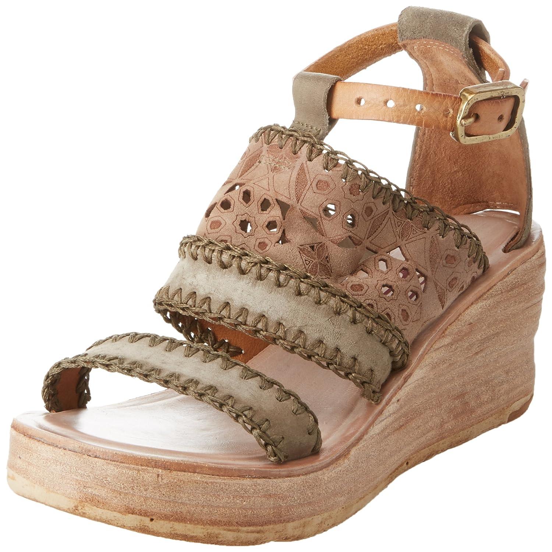 A.S.98 Nealie Women's Wedge Sandal B0773XM7P5 40 M EU|Moss