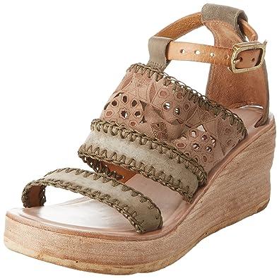 A.S.98 Noa, Rangers Boots Femme, Multicolore (Militare+ Rino 101 0001), 35 EU