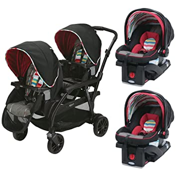 Graco Travel System Modes Duo Stroller 2 SnugRide Click Connect Infant Car Seats