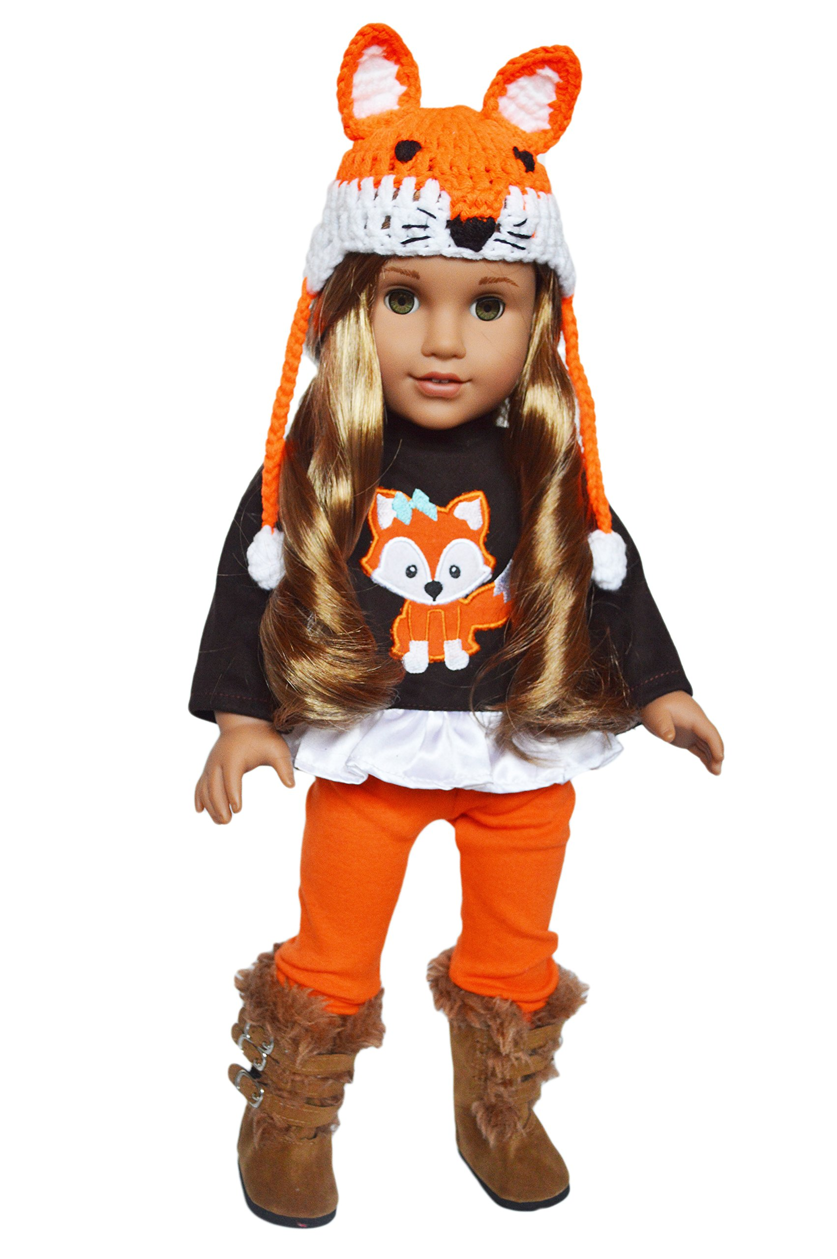 My Brittany's Fall Woodland Fox Outfit for 18 Inch Dolls- 18 Inch Doll Clothes
