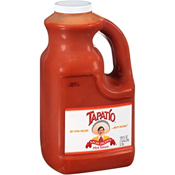 Tapatio Salsa Picante Hot Sauce, 128 Ounce