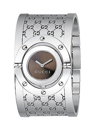 85ddcd5bff33 [グッチ] GUCCI 112 THE TWIRL WATCH レディース YA112401 トワール 腕時計 バングルウォッチ [並行