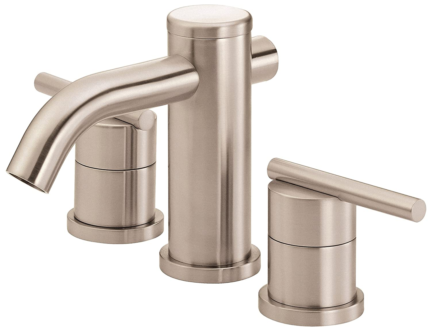 Danze D304158BN Parma Two Handle Widespread Lavatory Faucet, Brushed ...