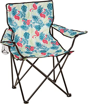 Tropix Flamingo Quad Chair One Size Pink/Green