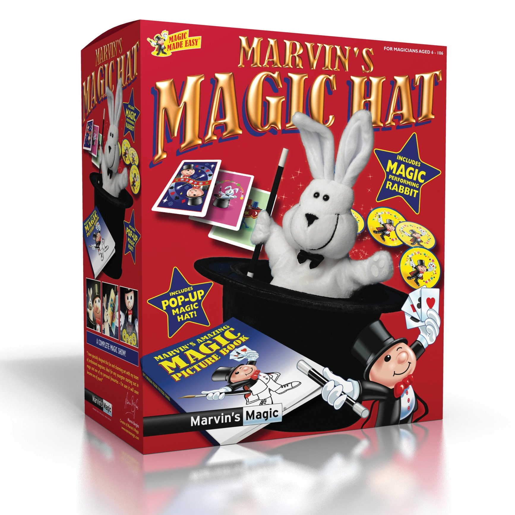 Marvin's Magic Rabbit and Top Hat Trick by Marvin's Magic