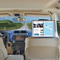 TFY Car Headrest Mount Holder for iPad Pro 12.9 inch, Black