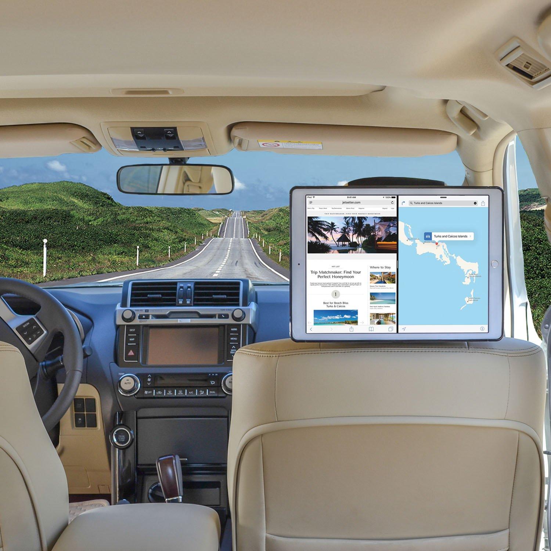 Fast-Attach Fast-Release Edition TFY iPad Pro 9.7 Inch 2016 Version Car Headrest Mount Holder Black iPadProSmount/_blk