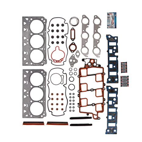 Head Gasket Set with Head Bolts for 95-05 Pontiac Grand Prix Bonneville  Buick LaCrosse LeSabre Chevrolet Impala Monte Carlo 3 8L V6 VIN Codes 1 2 K  by