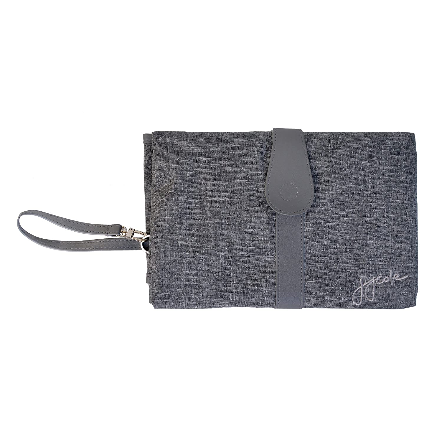 JJ Cole Changing Clutch, Gray Heather J00580