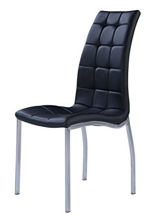 Global Furniture Dining Chairs, Black, 4 Pack