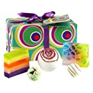 Bomb Cosmetics Funkadelic Handmade Wrapped Gift Pack [Contains 5-Pieces], 420g