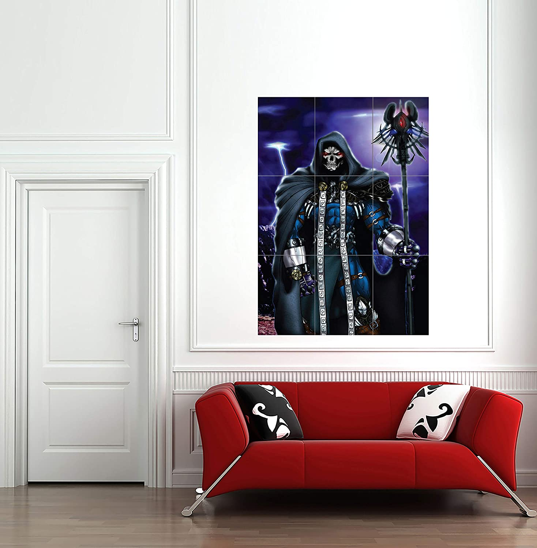 SKELETOR HE MAN CARTOON VILLAIN GIANT WALL ART NEW POSTER PRINT PICTURE G202