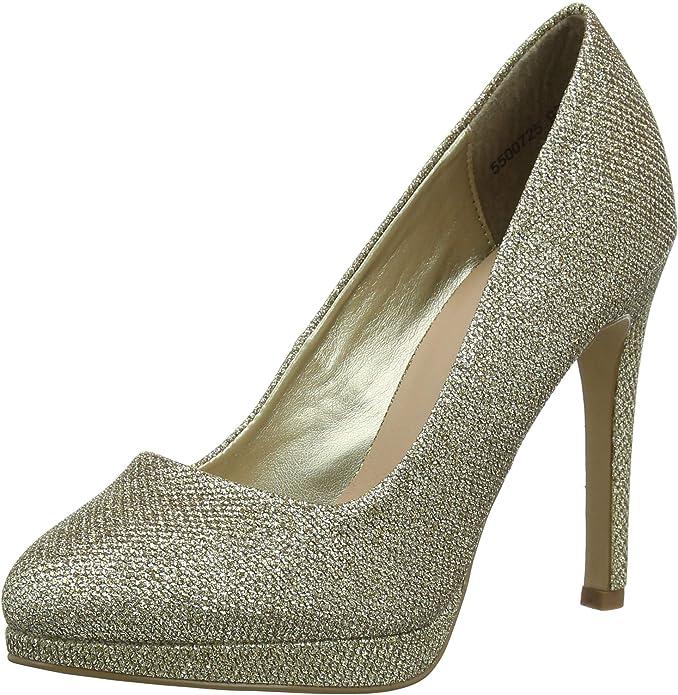 TALLA 37 EU. New Look 5500725, Zapatos de tacón con Punta Cerrada para Mujer