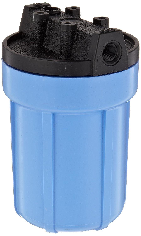 Pentek 158138 1//4 #5 Slim Line Blue Filter Housing