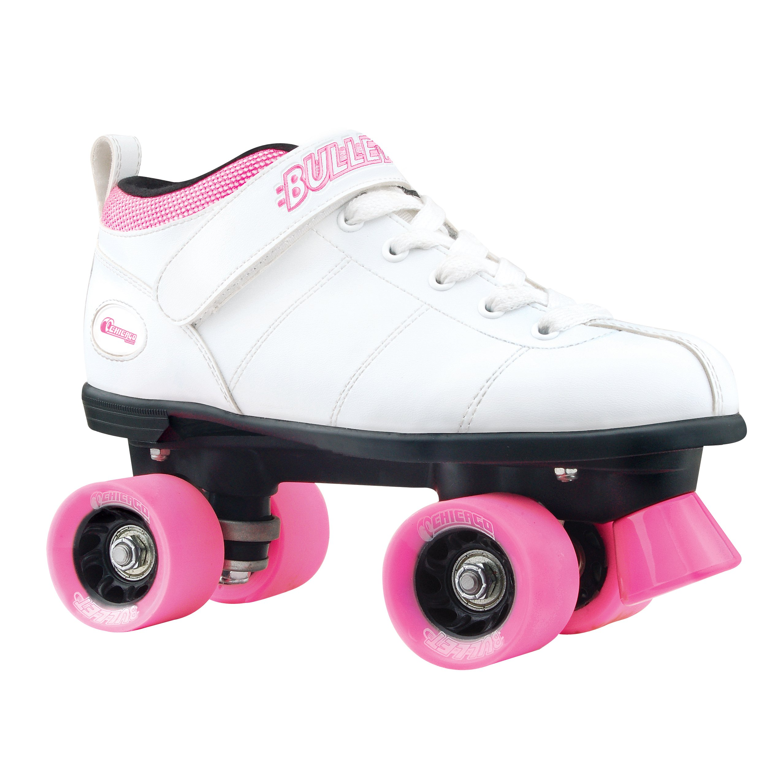 Chicago Bullet Ladies Speed Roller Skate -White Size 5