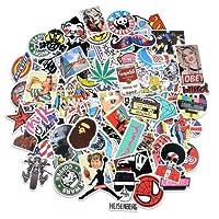 ✿luoluoluo✿ Sticker Mural, Kraft Naturel Sourire Autocollants Appréciation étiquettes 1 Rouleau 100 Pcs Adhésif Autocollant