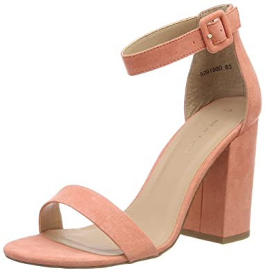 80e3cedcca2 New Look Women s 5291900 Ankle Strap Heels  Amazon.co.uk  Shoes   Bags
