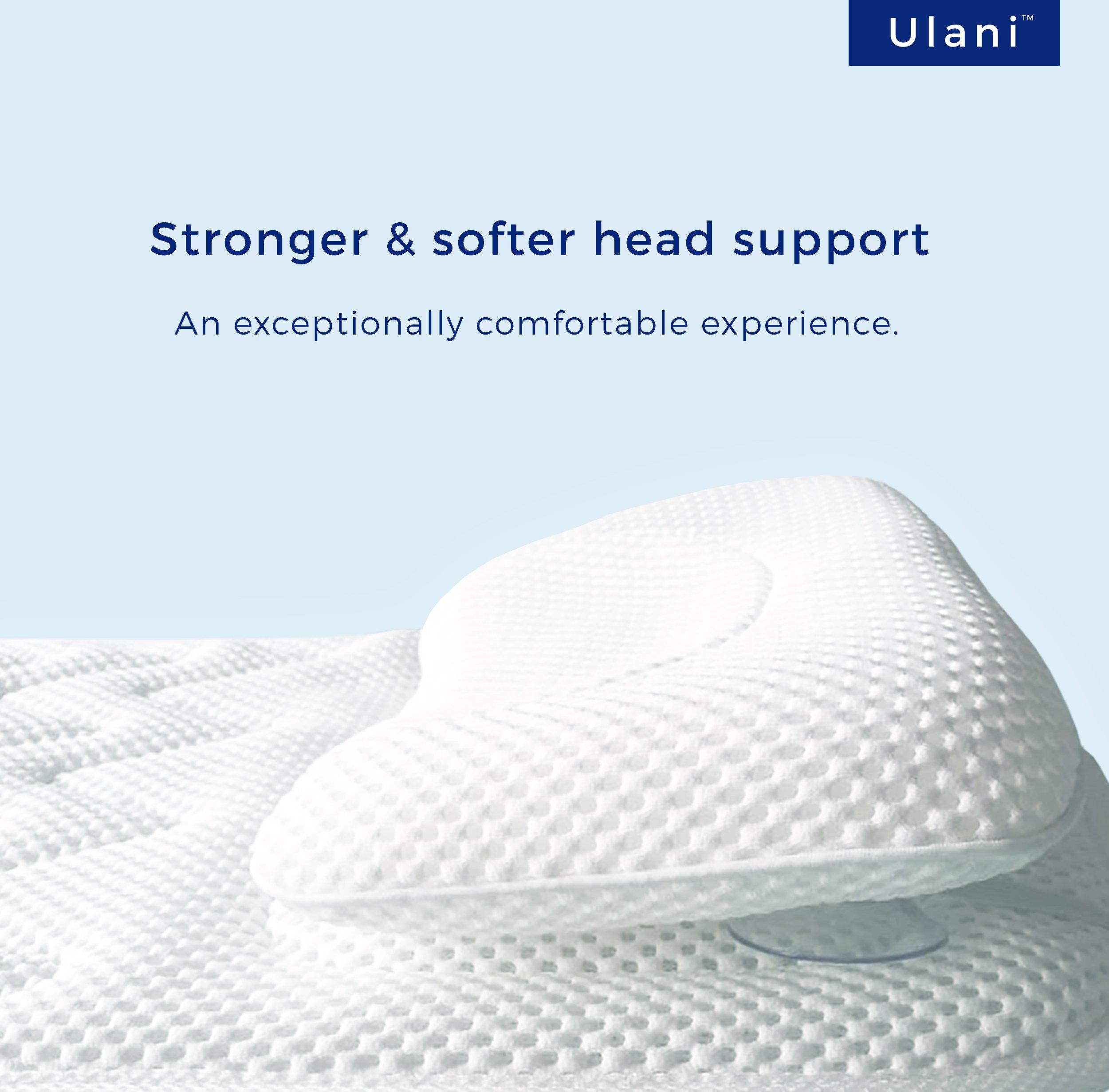 Full Body Bath Pillow Mat by Ulani [Original, Extra-long, Luxury Spa ...