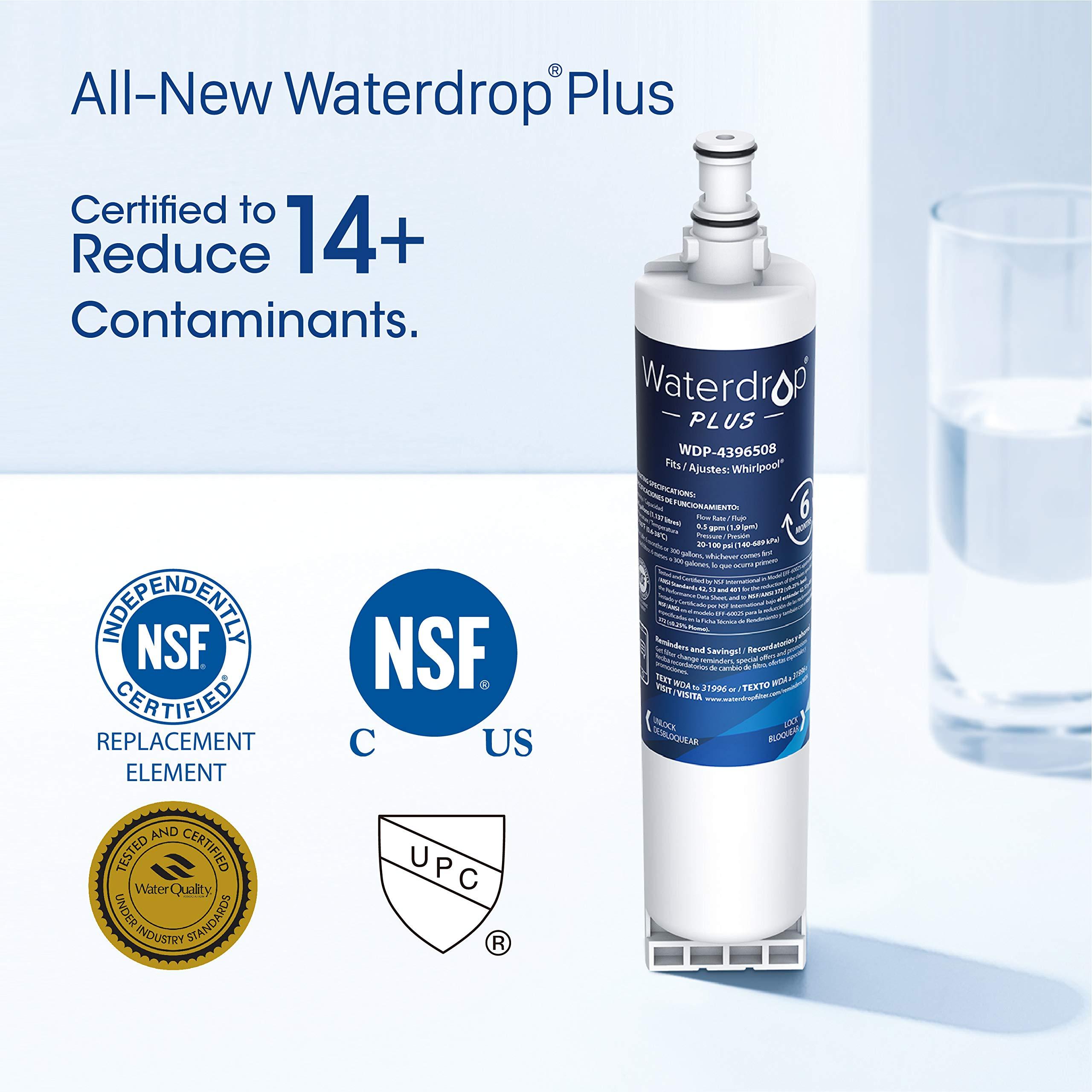Waterdrop Plus 4396508 Refrigerator Water Filter