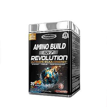 Amazon.com: MuscleTech Amino Build SX-7 Revolution - Fruit ...
