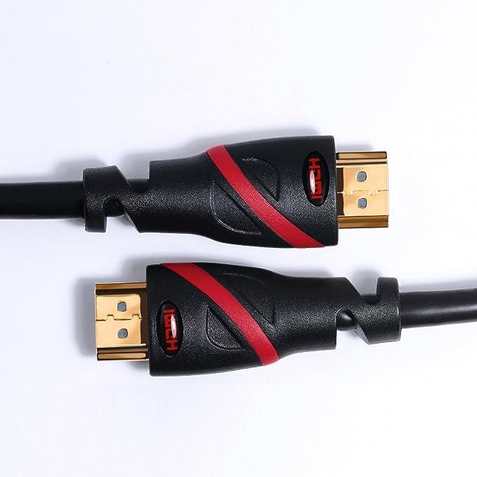 CSL - cable de 3 m - Ultra HD (4k) HDMI 2.0 / compatible con HDMI 1.4a | Alta velocidad con Ethernet | Nuevo modelo Full HD 1080p / 4K Ultra HD ...