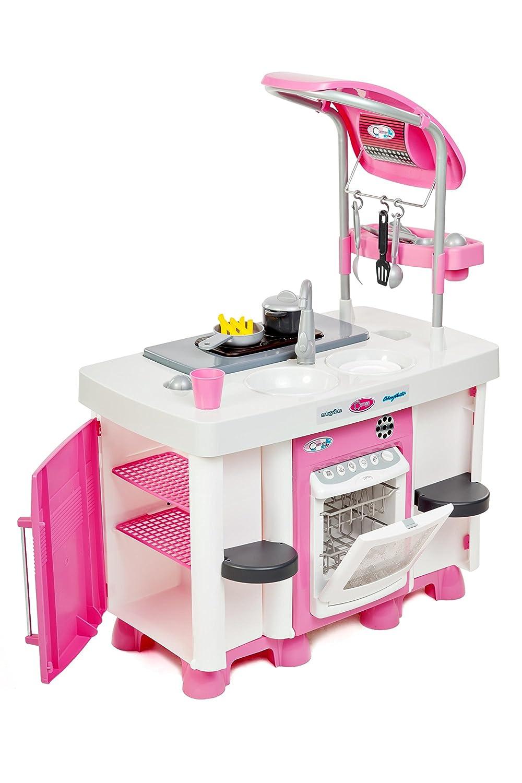 Kinderküche Plastik - Carmen Kinderküche mit Spülmachine
