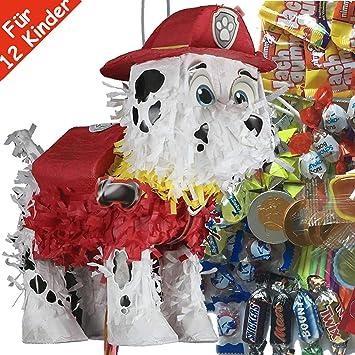 Juego de piñata: * Patrulla Canina * con máscara + Raqueta + ...