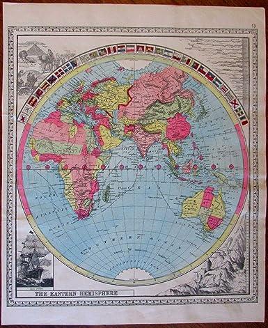 Amazon.com: Eastern Hemisphere World Decorative Flags ...