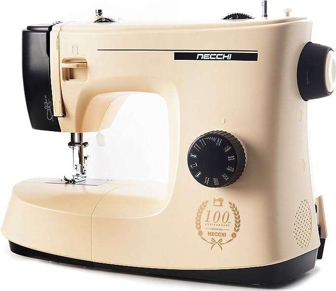 Necchi New Mirella - Máquina de Coser con 17 Puntos de Costura ...