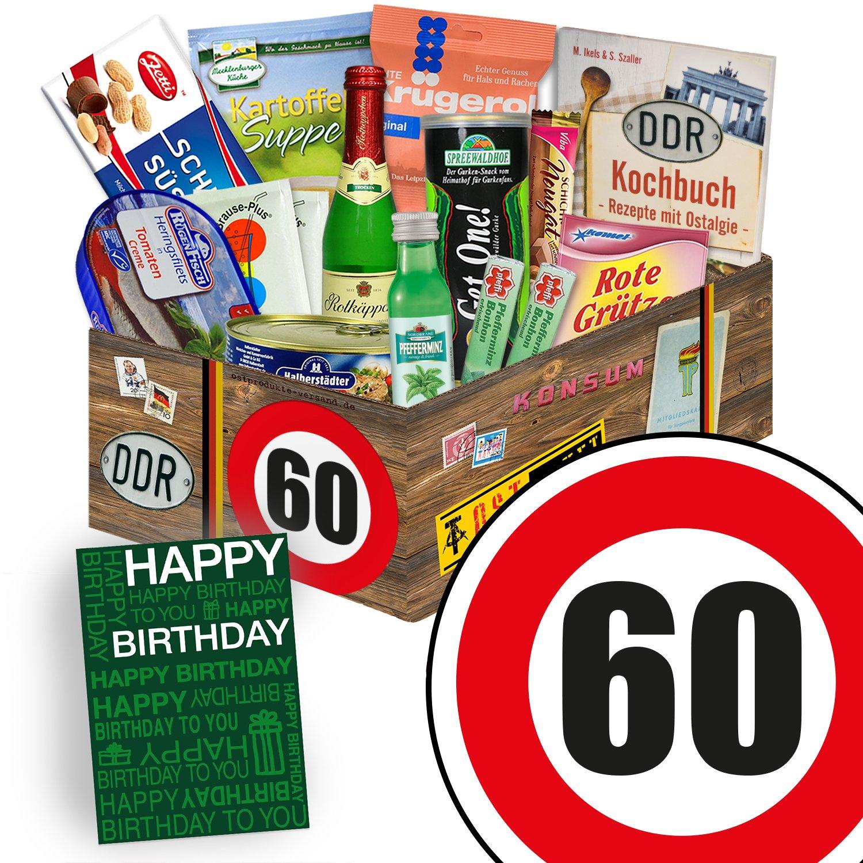 DDR Geschenk L | Spezial Geschenk | Geburtstag 60 | Geschenkset Papa ...