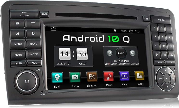 Xomax Xm 09za L9 Autoradio Mit Android 10 Passend Für Mercedes W164 I 2gb Ram 32gb