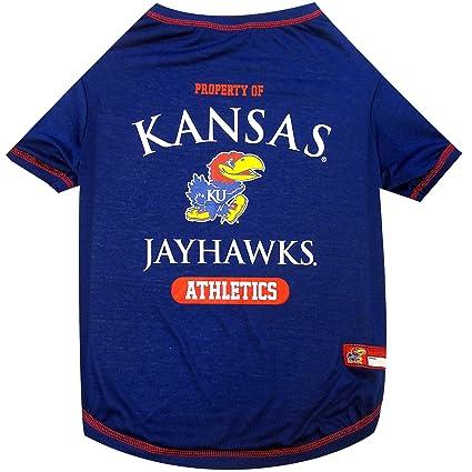 Amazon.com   NCAA Kansas Jayhawks Dog T-Shirt 24c3c6ea8