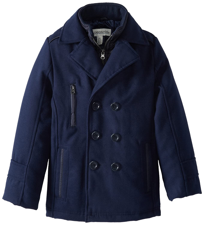 687649ba1 Amazon.com  London Fog Boys Peacoat  Dress Coats  Clothing