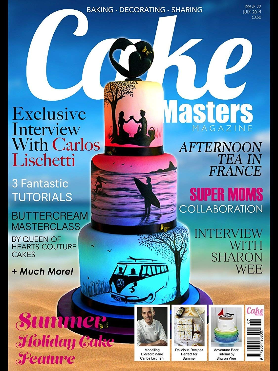 Award Winning Clairella Cakes Airbrush and Compressor Ideal for Cake Decoration with 5 Speed Settings