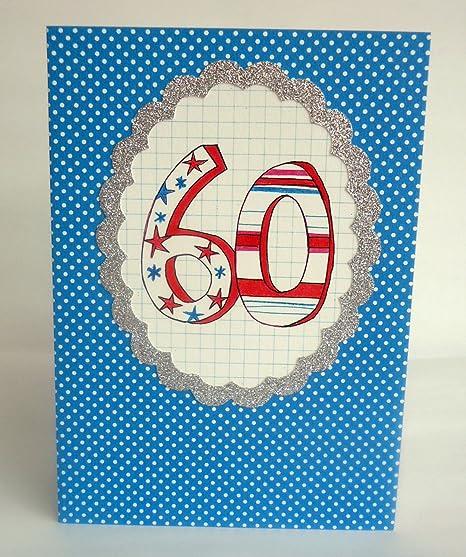 Amazon.com: Ensalada de papel feliz cumpleaños 60 sesenta ...