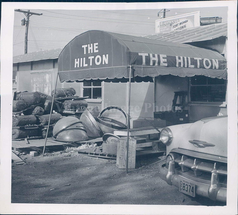 Junk Yards In Fort Worth Texas >> Amazon Com Vintage Photos 1955 Photo Junkyard Fort Worth Tx Conrad