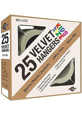 Closet Complete Kids Size, Premium Heavyweight, Velvet Hangers U2013  Ultra Thin, Space