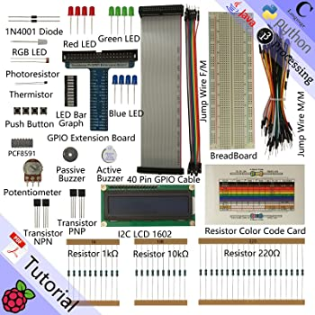 Amazon.com: Freenove LCD 1602 Starter Kit for Raspberry Pi
