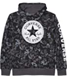 Converse Kids Boy's Camouflage Chuck Patch Fleece Pullover Hoodie (Big Kids)